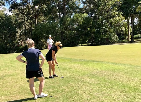 group golfing golf tour tours sunshine coast noosa spa resort nambour pacific harbour course headland maleny