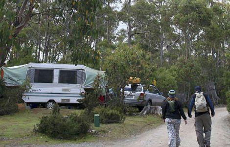 Tasman National Park campsites Douglas Camping Friendly Beaches Cradle Mountail Holiday and Caravan Park Southwest National Park