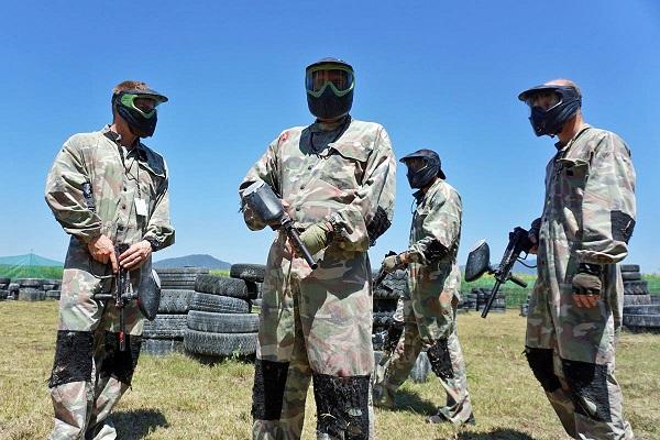 southside paintball cairns fun games shootout war shooting field